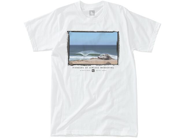 Hippy Tree Trekker T-Shirt Heren, white